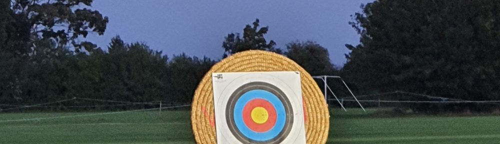 Archery in the evening at Wicken