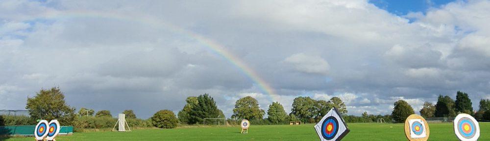 Rainbow over Wicken Archery Field